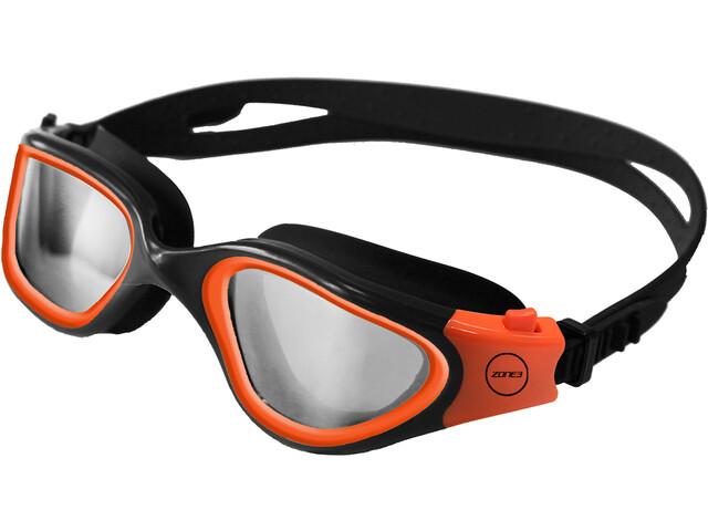 Zone3 Vapour Lunettes de natation Polarized, photochromatic lens-black/hi-vis orange